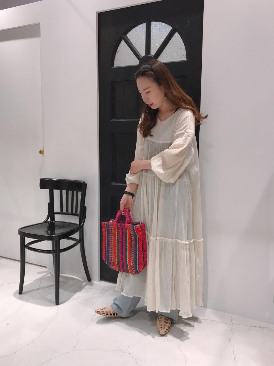 Dot and Stripes CHILD WOMAN ルクアイーレ 身長:155cm 2019.05.10