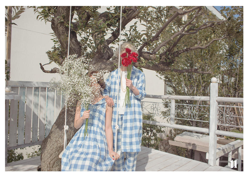 Dot & Stripes CHILD WOMAN|Dot & Stripes CHILD WOMAN 2014 spring/summer カタログ画像