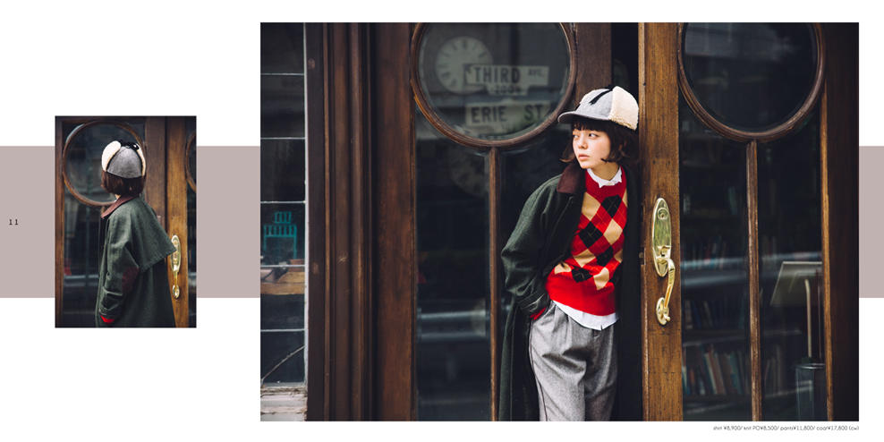 Dot & Stripes CHILD WOMAN|Dot & Stripes CHILD WOMAN 2017 autumn/winter カタログ画像