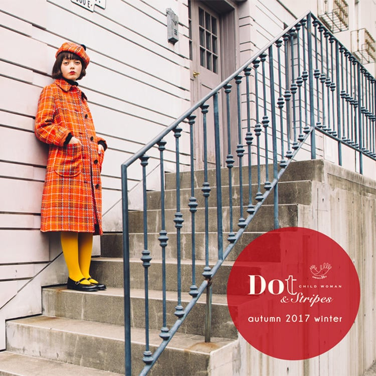 Dot & Stripes CHILD WOMAN|Dot & Stripes CHILD WOMAN 2017 autumn/winter
