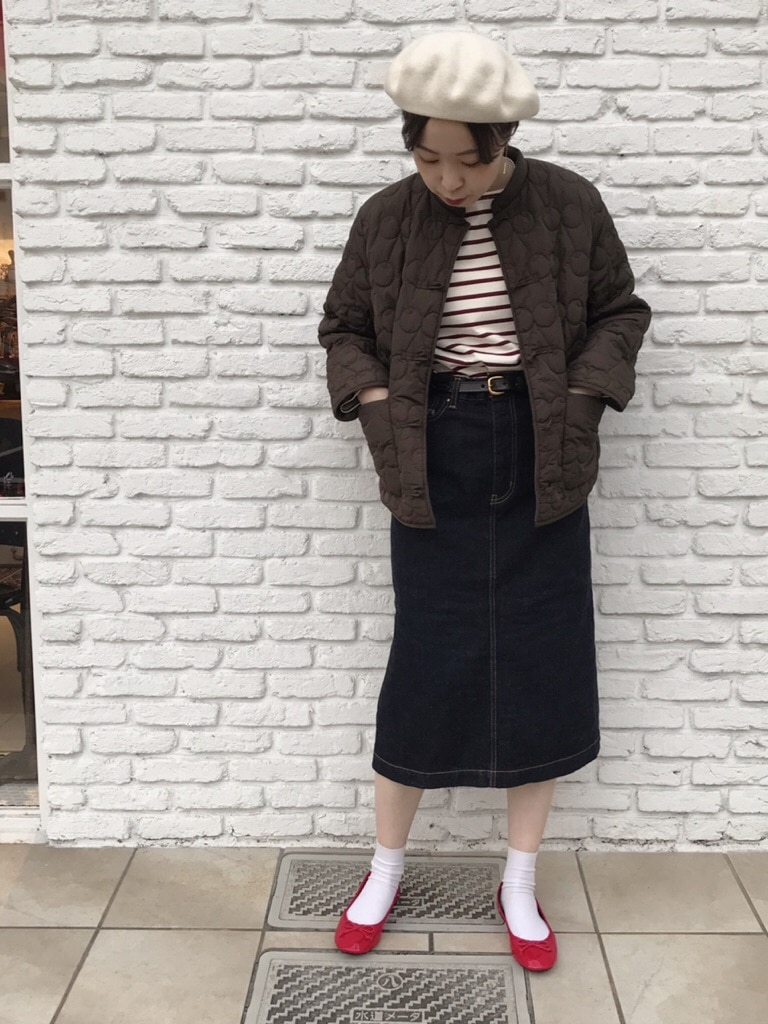 Dot and Stripes CHILD WOMAN 名古屋栄路面 身長:160cm 2019.12.11