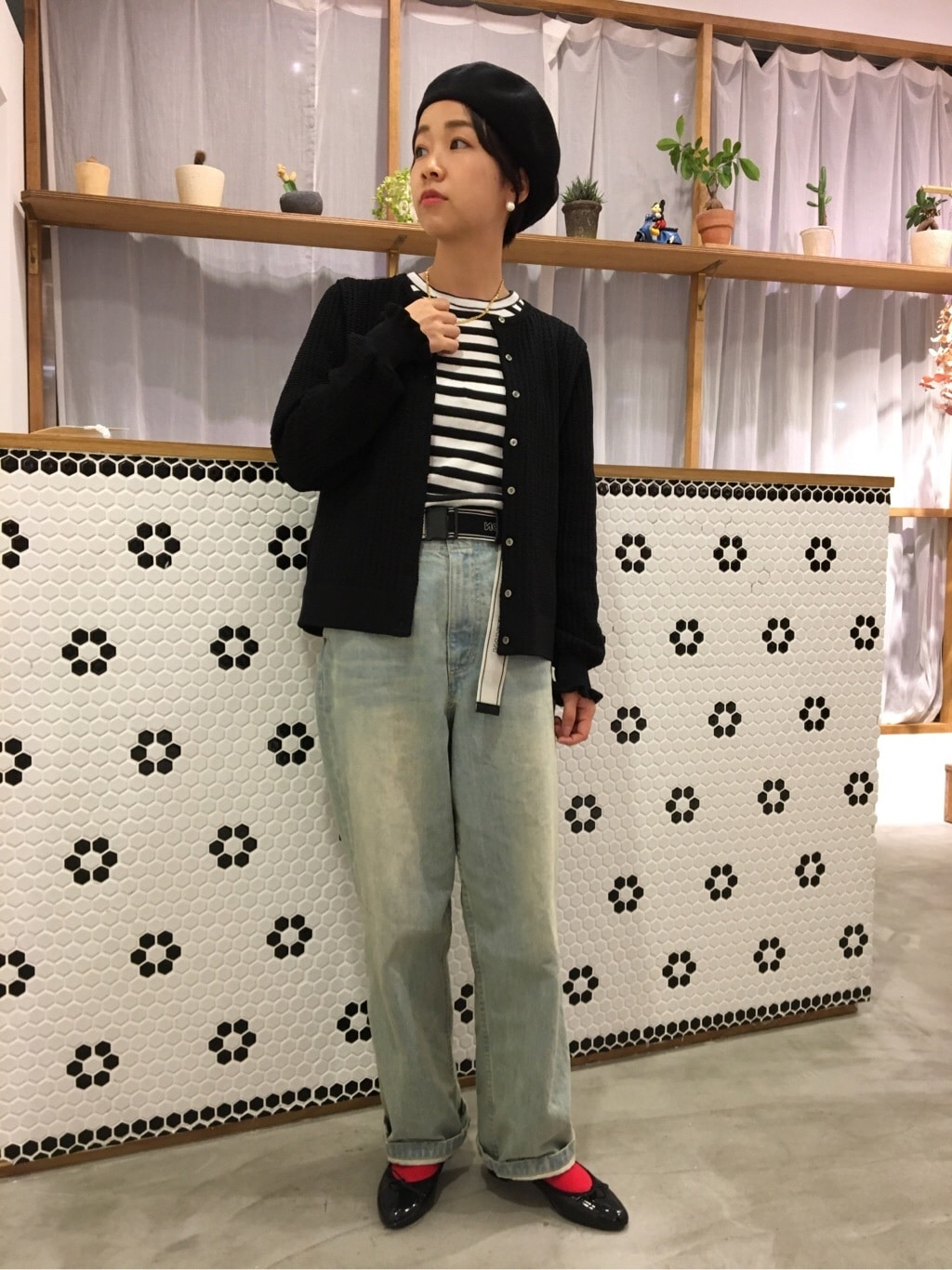 Dot and Stripes CHILD WOMAN ラフォーレ原宿 身長:153cm 2019.07.22
